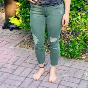 Green RSQ jeans(size 5)